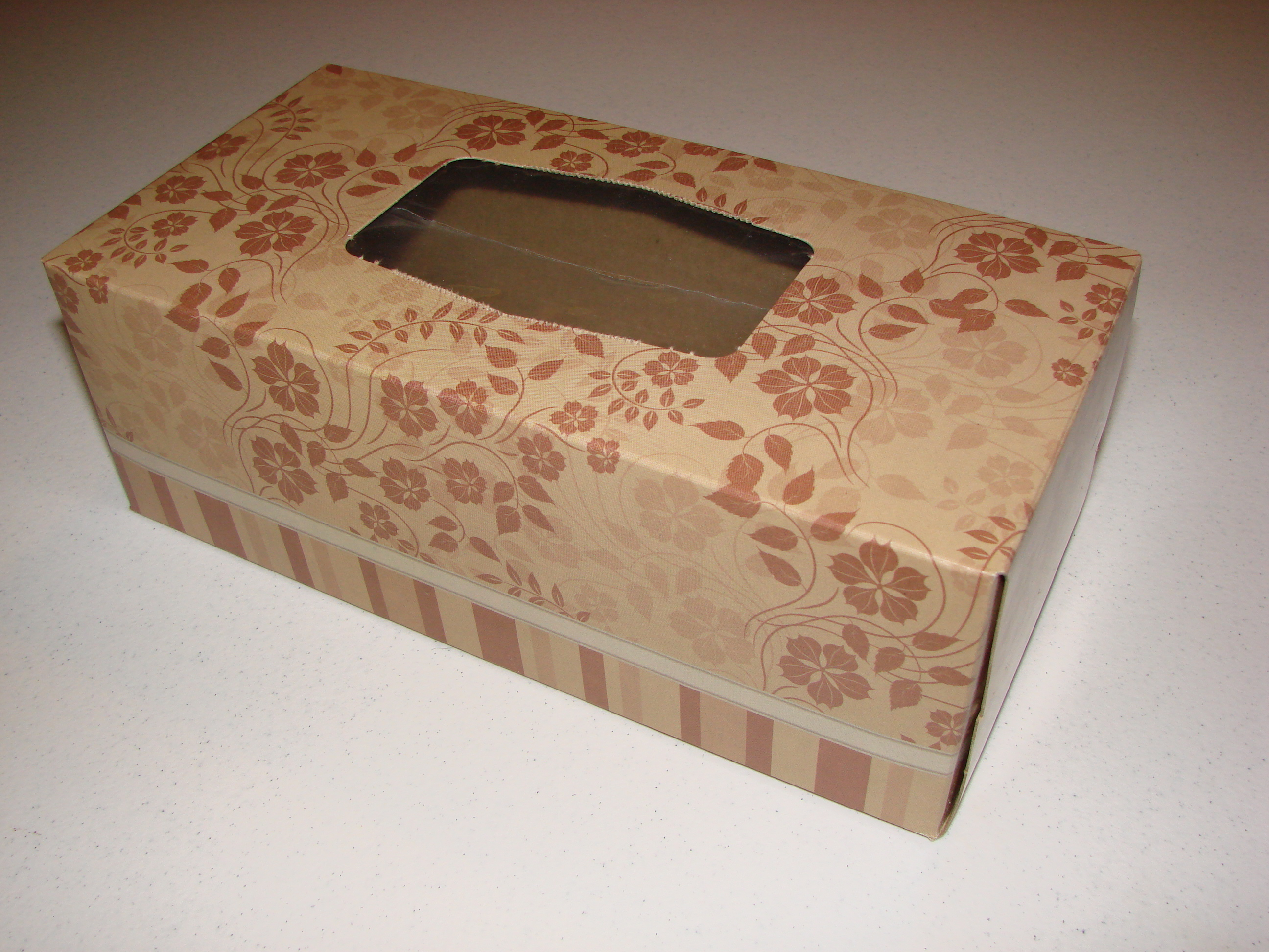 A Tissue Box! Of Course ...