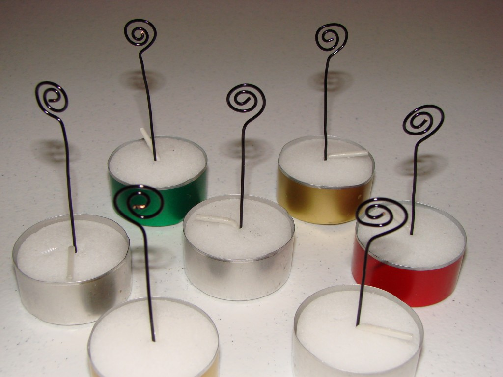 Tea Light Place Card Holders Craft Crossing