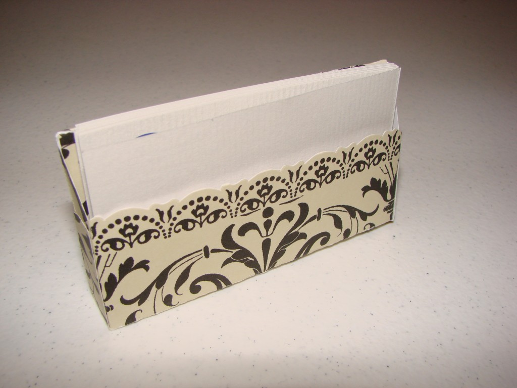 Stylish business card holder | Craft Crossing