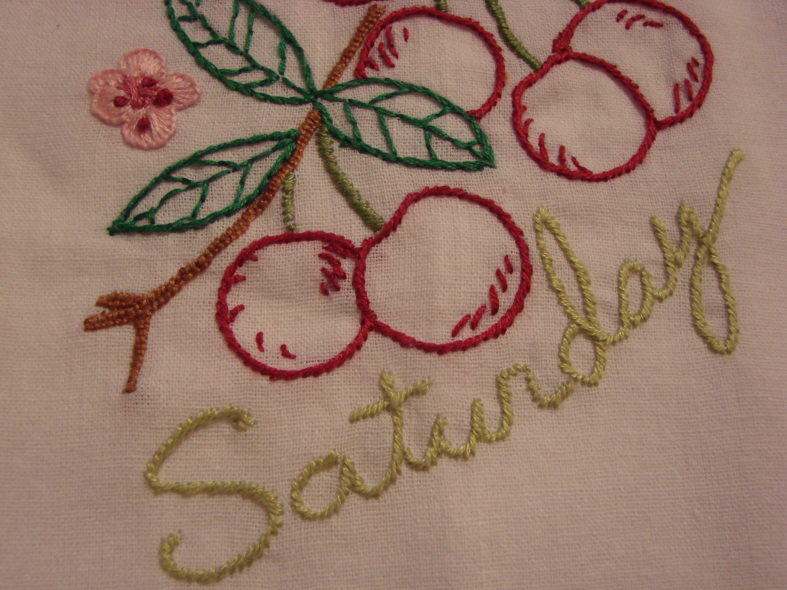 In My Kitchen Sentiments Four Towel Embroideryembroidery